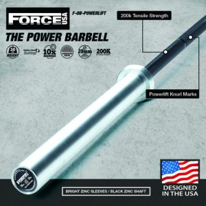 Force USA Powerlifting Halterstang (IPF Specificaties-Competition Tested)-0