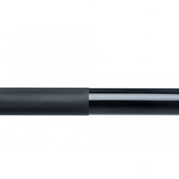 Force USA Gunner Barbell (Black Zinc Bar With Bright Zinc Sleeves) - Competition Tested-3140