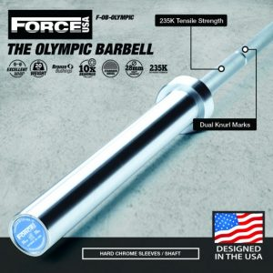 Force USA Olympische Halterstang(IWF Specificaties - Competition Tested)-0