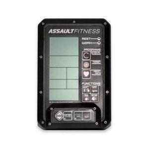 De Assault AirBike Elite Console geeft je tijdens de workout inzicht in jouw prestaties op de Assault AirBike.